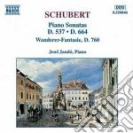 Sonata x pf in la magg op.120, in la min cd musicale di Franz Schubert