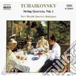 String quartets vol.1 cd musicale di TCHAIKOVSKY