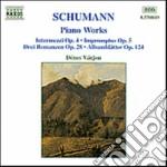 Musica x pf: internezzi op.4, improvviso cd musicale di Robert Schumann