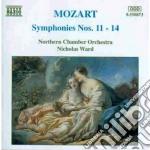 Sinfonia n.11 > n.14 cd musicale di Wolfgang Amadeus Mozart