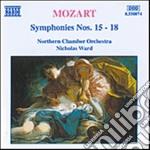 Sinfonia n.15 k 124, n.16 k 128, n.16 k cd musicale di Wolfgang Amadeus Mozart