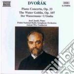 Concerto x pf op.33, the water goblin op cd musicale di Antonin Dvorak