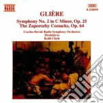Sinfonia n.2 op.25, i cosacchi zaporozhy cd musicale di Gliere