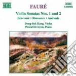 Sonata x vl n.1 op.13, n.2 op.108, berce cd musicale di Gabriel Faure'