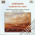 Sinfonia n.2 op.61, n.4 op.120 cd musicale di Robert Schumann