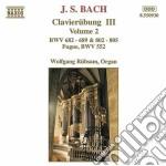 Clavierubung iii, vol.2: fuga bwv 552, b cd musicale di Johann Sebastian Bach