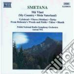 Ma vlast (la mia patria) cd musicale di Bedrich Smetana