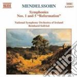 Mendelssohn Felix - Sinfonia N.1 Op.11, N.5 Op.107