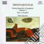Quartetti x archi vol.2 (integrale): qua cd musicale di Dmitri Sciostakovic