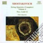 Quartetti x archi vol.4 (integrale): qua cd musicale di Dmitri Sciostakovic