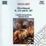 Divertimento k 287, k 131 cd musicale di Wolfgang Amadeus Mozart