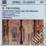 Il trovatore, opera in 4 atti cd musicale di Giuseppe Verdi