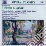 L'elisir d'amore, melodramma in 2 atti cd musicale di Gaetano Donizetti