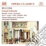 Gianni schicchi cd musicale di Giacomo Puccini