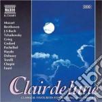 Claire de lune - brani di mozart, beetho cd musicale