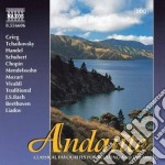 Andante - brani di grieg, ciaikovski, ha cd musicale