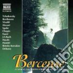 Berceuse - ciaikovski, beethoven, vivald cd musicale
