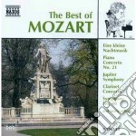 The best of: piccola serenata notturna, cd musicale di Wolfgang Amadeus Mozart