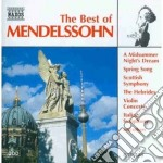 The best of: le ebridi, sinfonia nn.3,4, cd musicale di Felix Mendelssohn