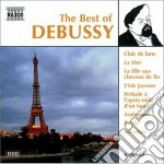 The best of: clair de lune, la mer, la f cd musicale di DEBUSSY