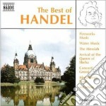 The best of: concerti grossi nn. 3, 4, 5 cd musicale di Handel georg friedri