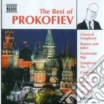 The best of: sinfonie nn.1,5, romeo e gi cd musicale di Sergei Prokofiev
