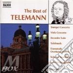 The best of telemann cd musicale di TELEMANN