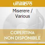 Miserere-a.v. cd musicale di ARTISTI VARI