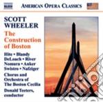 Scott Wheeler - The Construction Of Boston cd musicale di Scott Wheeler