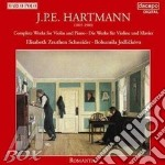 Opere x vl e pf: sonate n.1 > n.3, suite cd musicale di HARTMANN KARL AMADEU