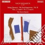 Holmboe Vagn - Integrale Dei Quartetti Per Archi Vol.2- Quartetti Nn.2, 5 E 6 cd musicale di Vagn Holmboe