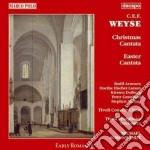 Weyse c.e.f. christmas cantata, easter c cd musicale