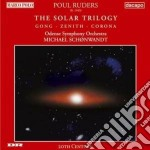Solar triology cd musicale di Paul Ruders