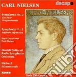 Sinfonia n.2 op.16, sinfonia n.3 op.27 cd musicale di Carl Nielsen