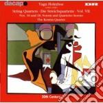 Quartetti per archi cd musicale di Vagn Holmboe