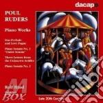 Piano works cd musicale di Paul Ruders