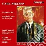 Sinfonia n.1 op.7 e n.6 'sinfonia sempli cd musicale di Carl Nielsen