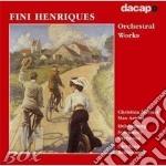 Opere per orchestra cd musicale di Fini Henriques
