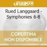 Sinfonie n.6 - 7 - 8 cd musicale di Rued Langgaard