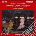 Sinfonia n.4, n.5 (2 versioni) cd musicale di Rued Langgaard