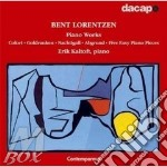 Piano works cd musicale di Bent Lorentzen
