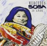 30 ANOS cd musicale di Mercedes Sosa