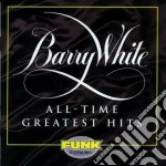 Barry White - All Time Greatest Hits cd musicale di Barry White