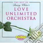 THE BEST OF cd musicale di LOVE UNLIMITED ORCHESTRA