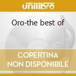 Oro-the best of cd musicale di Mercedes Sosa