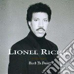 BACK TO FRONT cd musicale di Lionel Richie