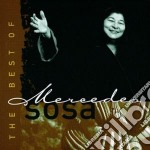 THE BEST OF cd musicale di Mercedes Sosa
