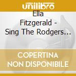 SINGS THE RODGERS AND HART SONG BOOK cd musicale di Ella Fitzgerald