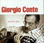 ECCOMI QUA cd musicale di Giorgio Conte
