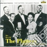 THE BEST OF THE PLATTERS cd musicale di PLATTERS